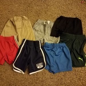Bundle of 7 Toddler Shorts